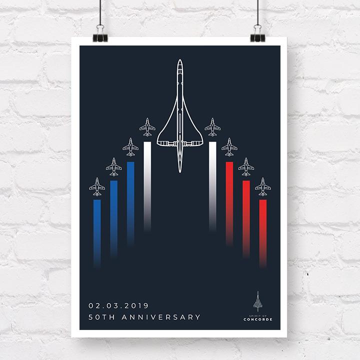 Concorde 50th Anniversary Red Arrows