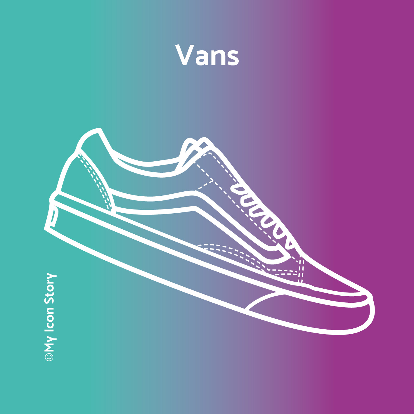 My Icon Story icon of Vans trainer