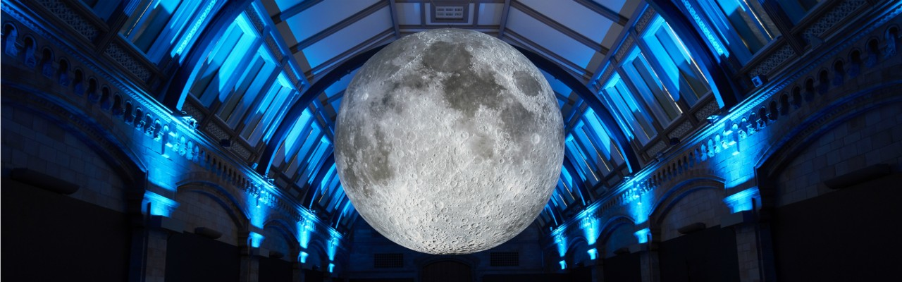 Museum of the Moon by Luke Jerram at the Natural History Museum