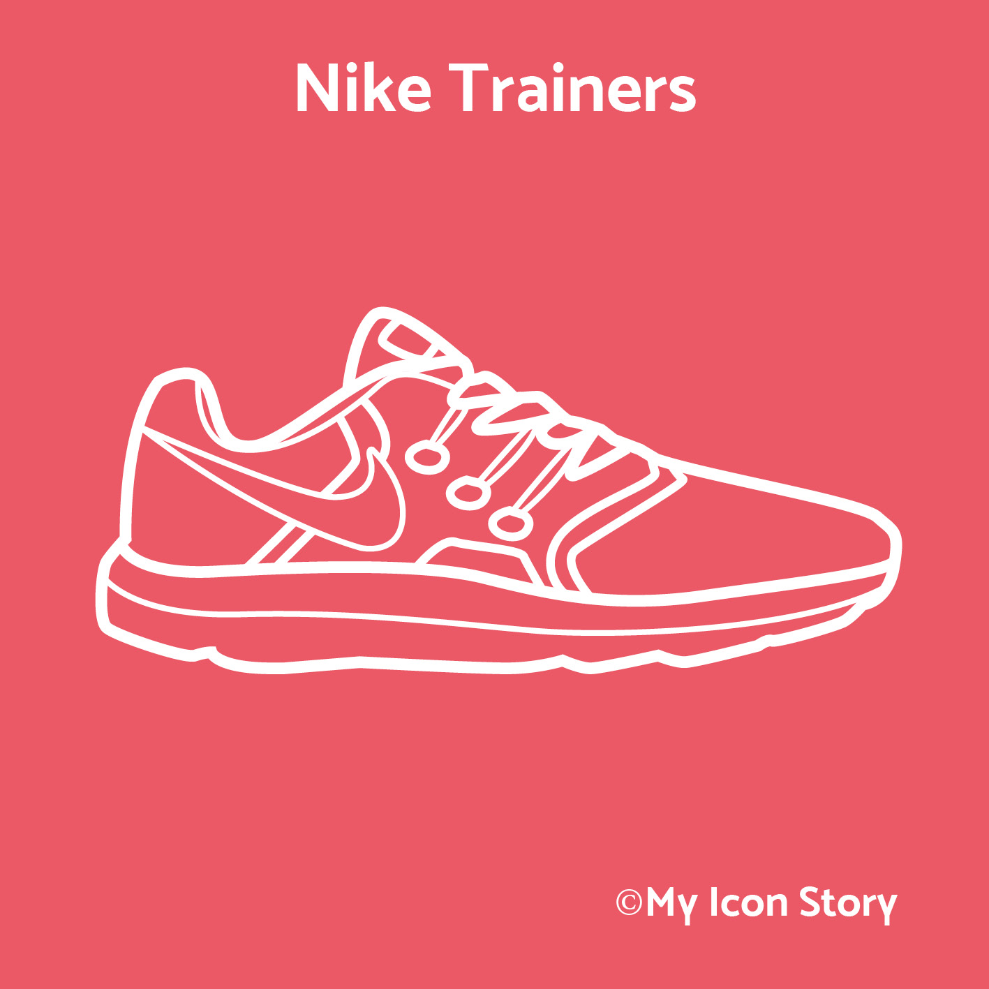 Nike Running Trainer icon