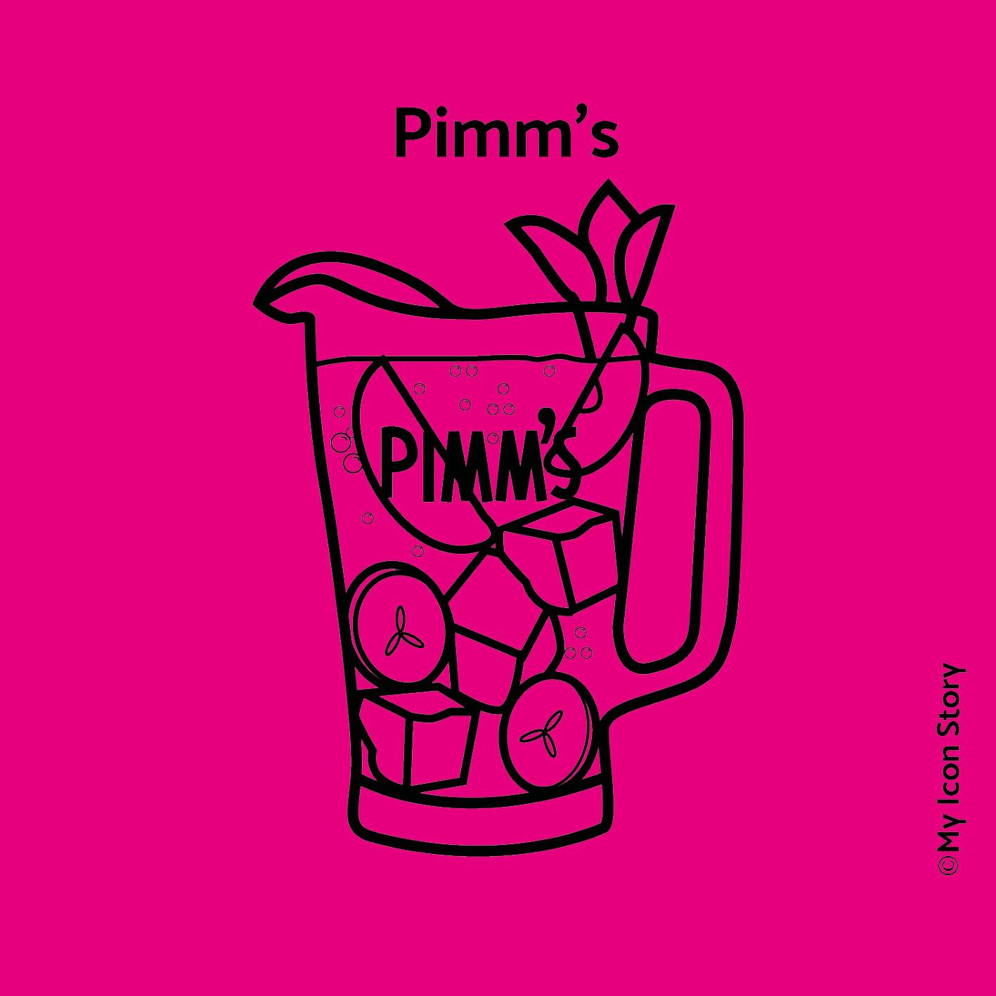 Pimms jug icon
