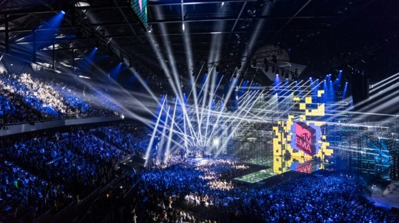 MTV EMA awards arena 2017