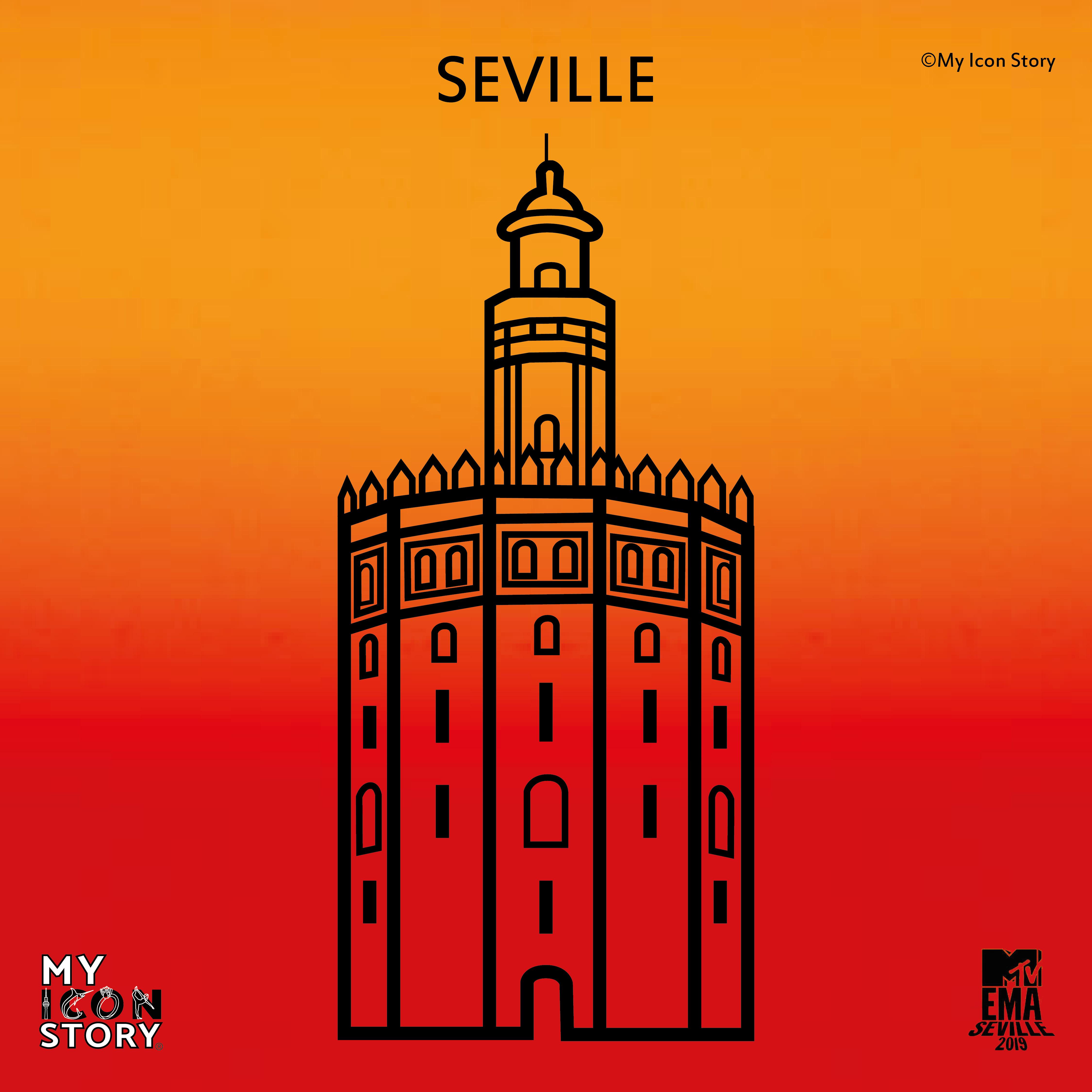 Icon od Seville Torre del Orro