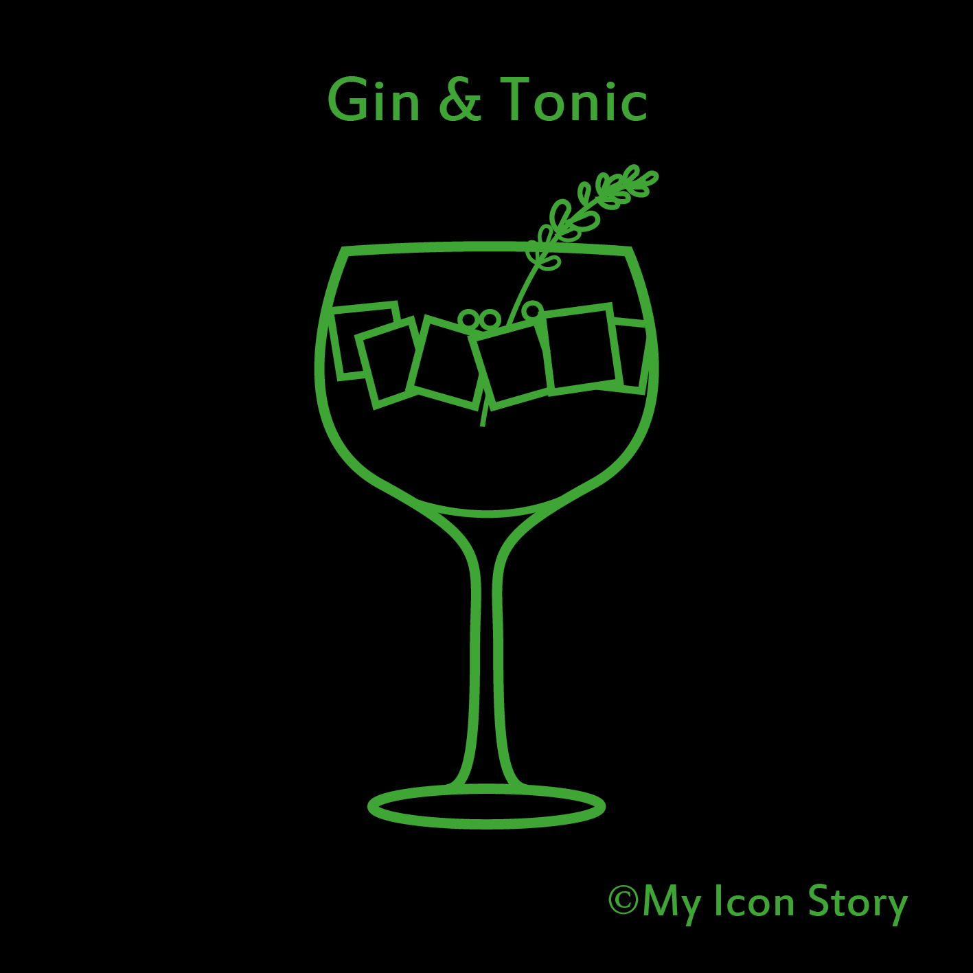 Gin and Tonic icon