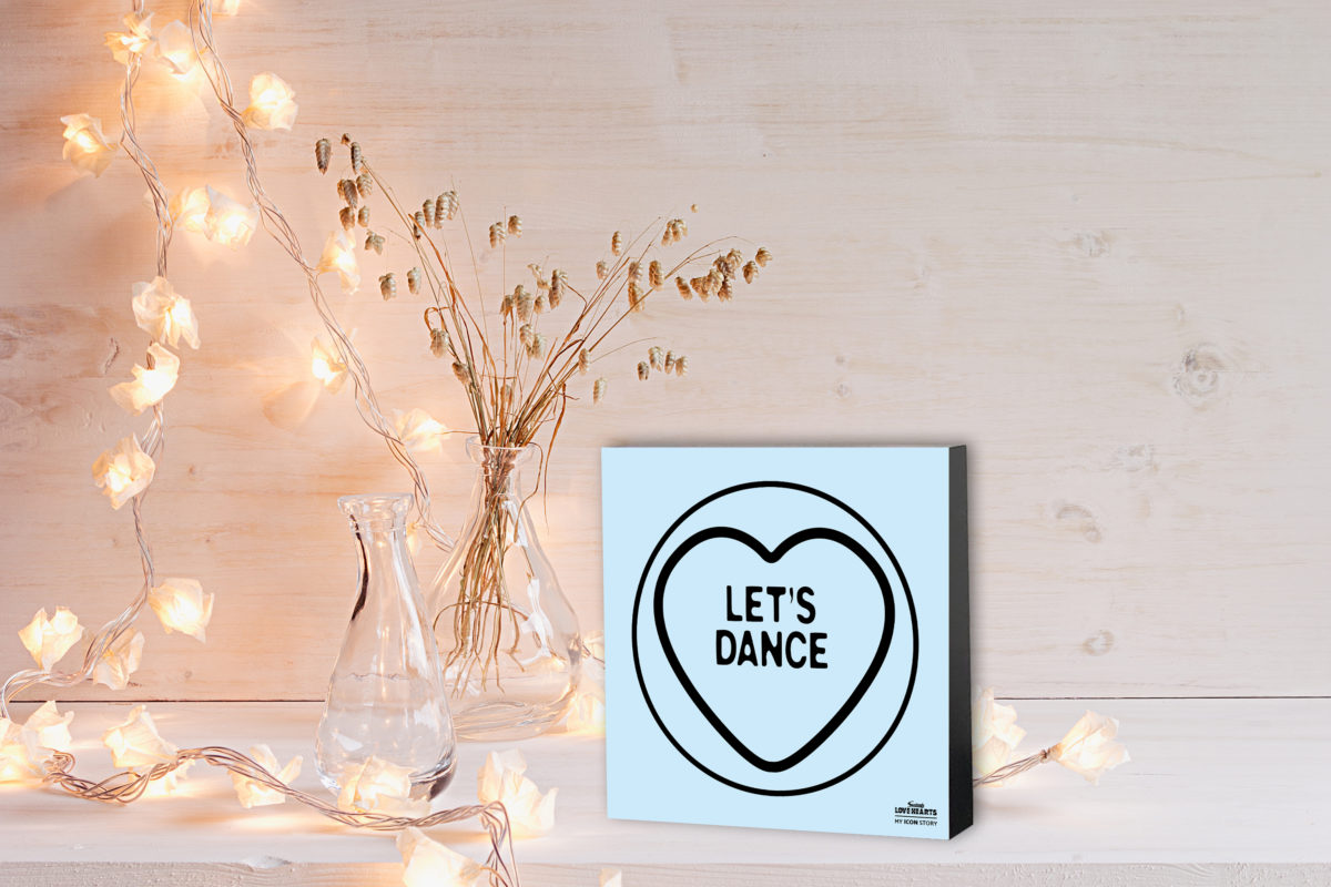 LET'S DANCE Love Hearts Expression Block