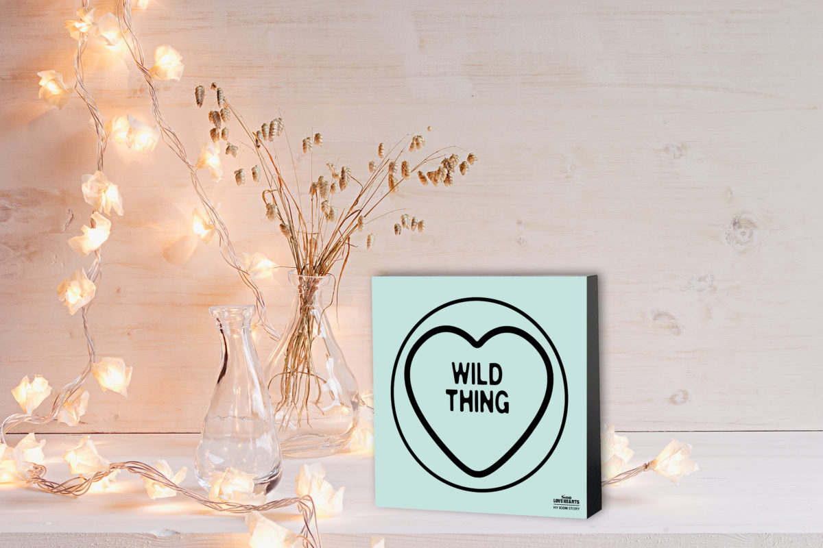 WILD THING Love Hearts Expression Block