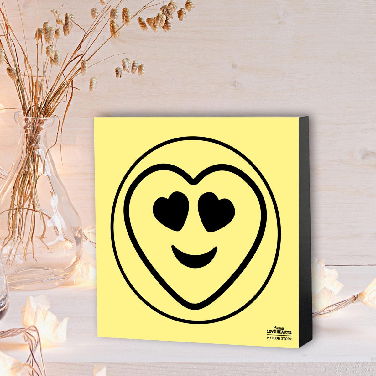 Heart Eyes Emoji Expression Block