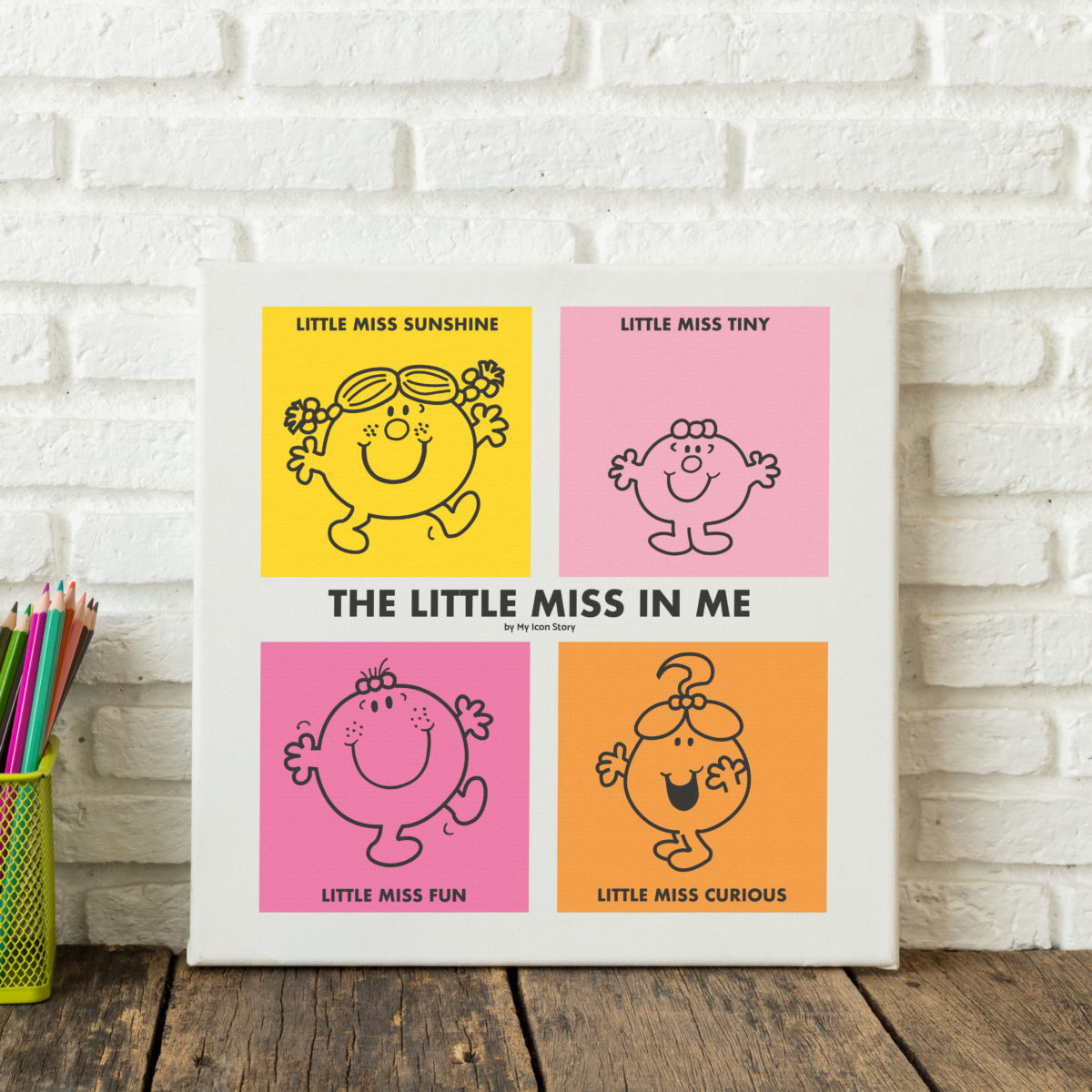 Little Miss Personality Print
