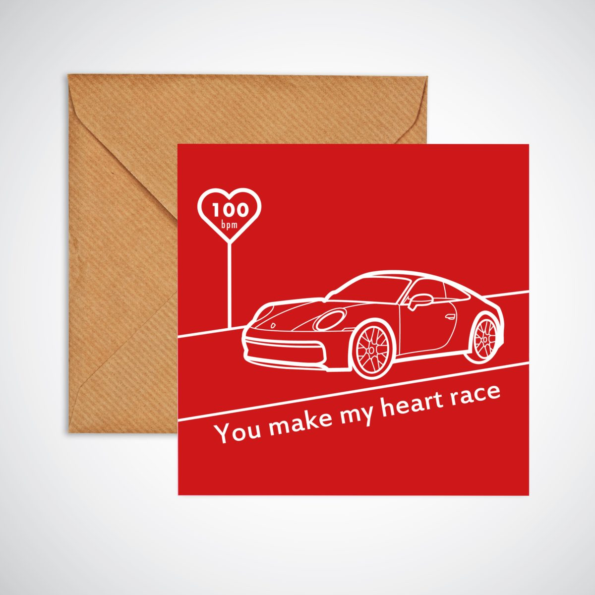 You Make My Heart Race Valentine's Day