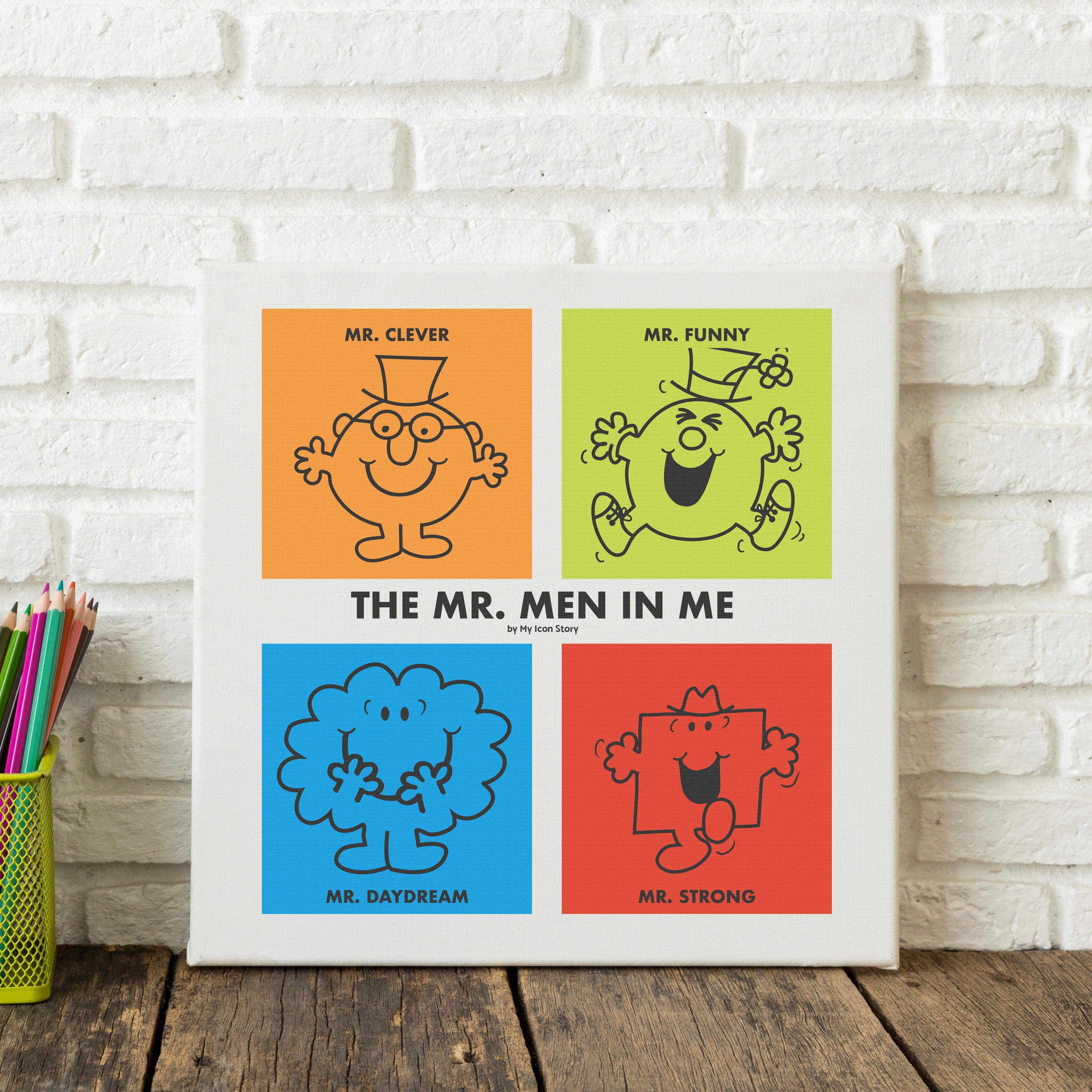 mr men print
