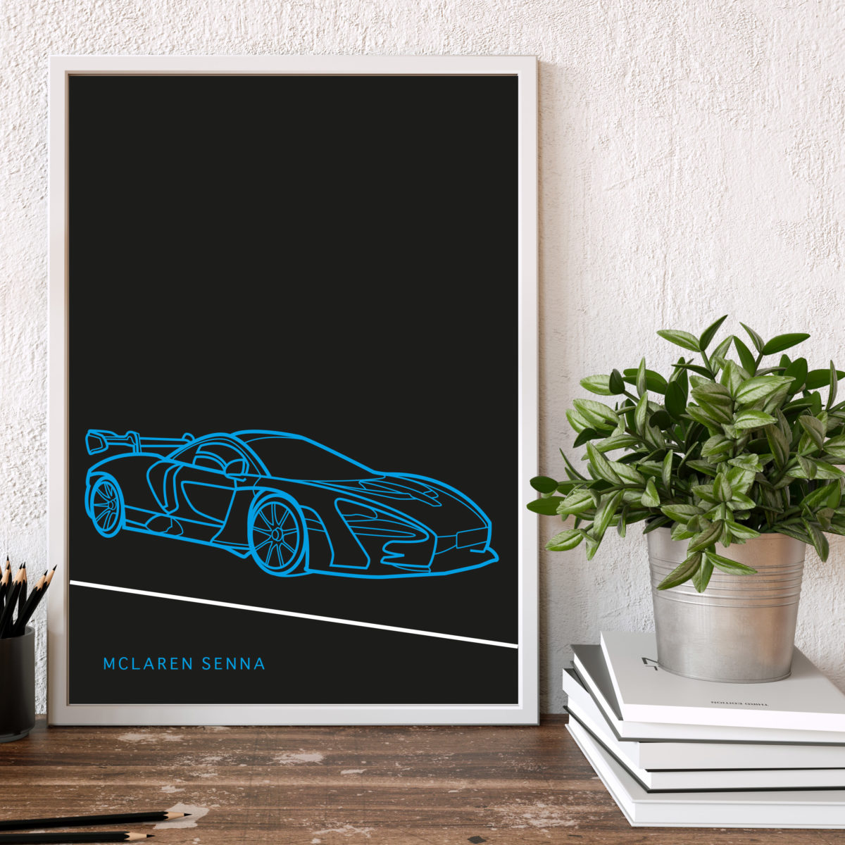 McLaren Senna Poster